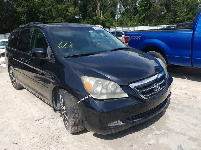 Salvage cars for sale from Copart Ocala, FL: 2007 Honda Odyssey TO