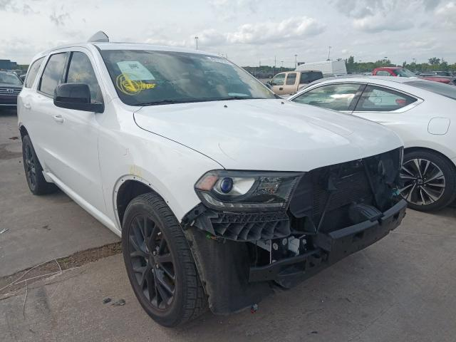 Salvage cars for sale from Copart Woodhaven, MI: 2016 Dodge Durango SX