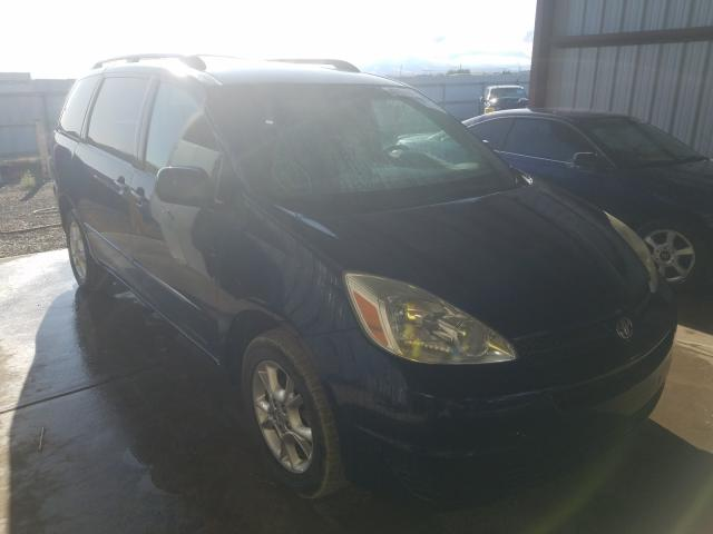 Toyota salvage cars for sale: 2004 Toyota Sienna LE