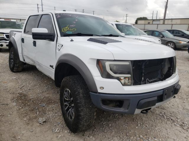 Salvage cars for sale from Copart Haslet, TX: 2012 Ford F150 SVT R