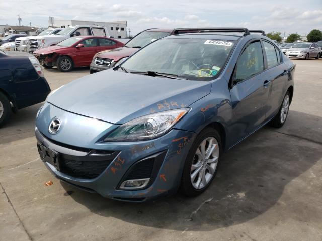 из сша 2010 Mazda 3 S 2.5L JM1BL1S59A1207030