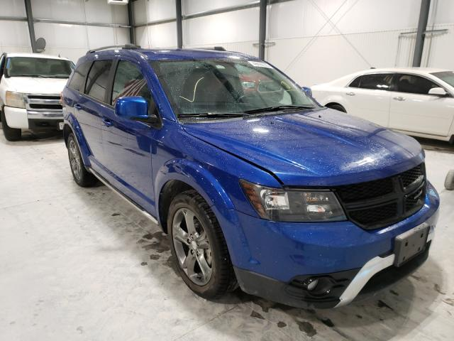 Salvage cars for sale from Copart Greenwood, NE: 2015 Dodge Journey CR