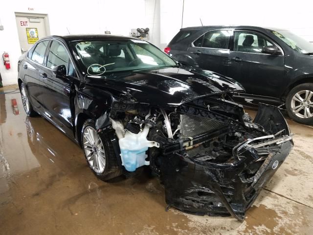 Salvage cars for sale from Copart Blaine, MN: 2016 Ford Fusion SE