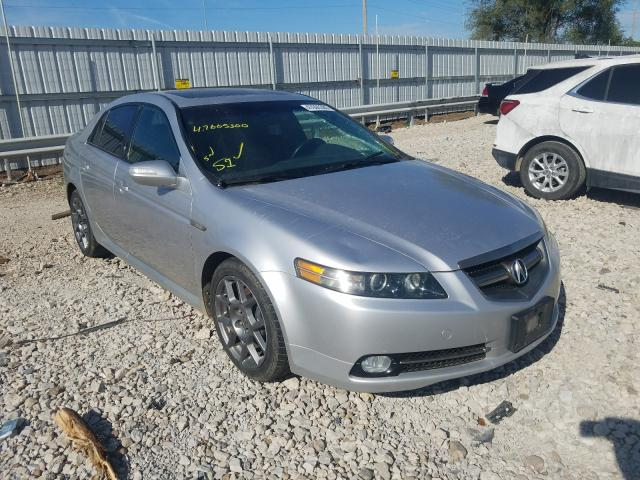 Acura TL Type S salvage cars for sale: 2007 Acura TL Type S