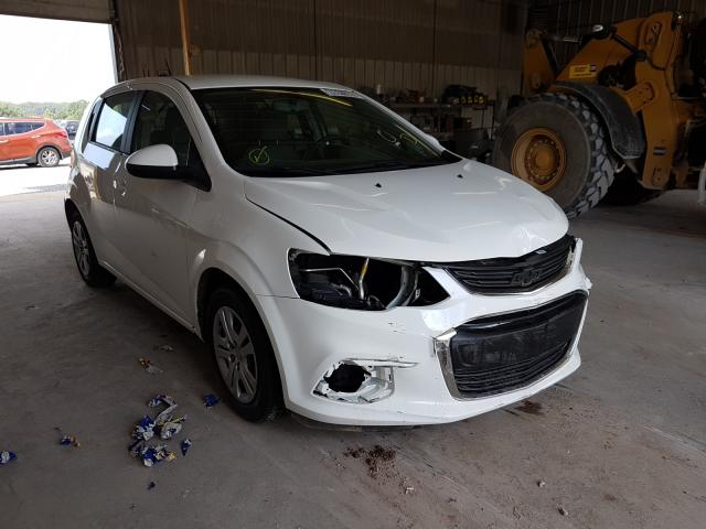 Chevrolet Sonic salvage cars for sale: 2017 Chevrolet Sonic
