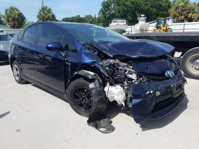 Salvage cars for sale from Copart Punta Gorda, FL: 2012 Toyota Prius
