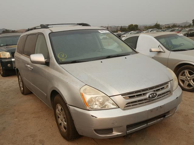 KIA Sedona EX salvage cars for sale: 2008 KIA Sedona EX