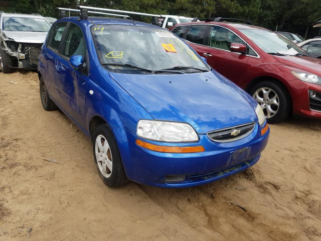 Chevrolet Aveo Base salvage cars for sale: 2006 Chevrolet Aveo Base