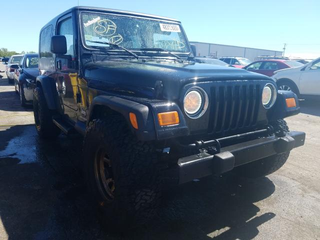 Jeep Wrangler salvage cars for sale: 2005 Jeep Wrangler