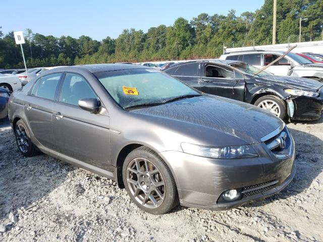Acura TL Type S salvage cars for sale: 2008 Acura TL Type S