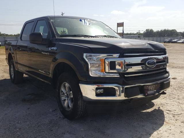 Salvage cars for sale from Copart Newton, AL: 2019 Ford F150 Super