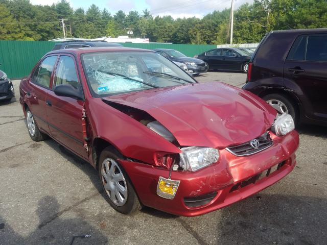 Toyota Corolla salvage cars for sale: 2001 Toyota Corolla