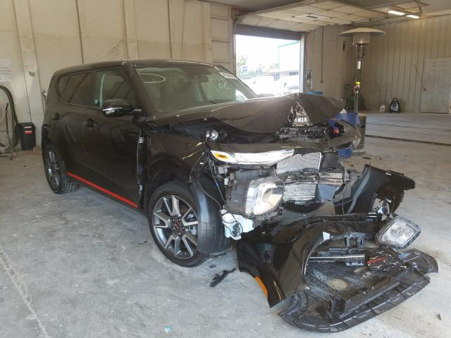 KIA Soul GT LI salvage cars for sale: 2021 KIA Soul GT LI