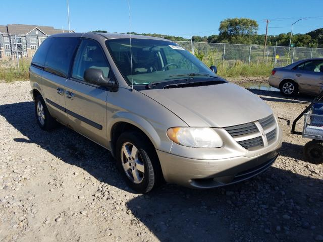 Salvage cars for sale from Copart Madison, WI: 2007 Dodge Caravan SX