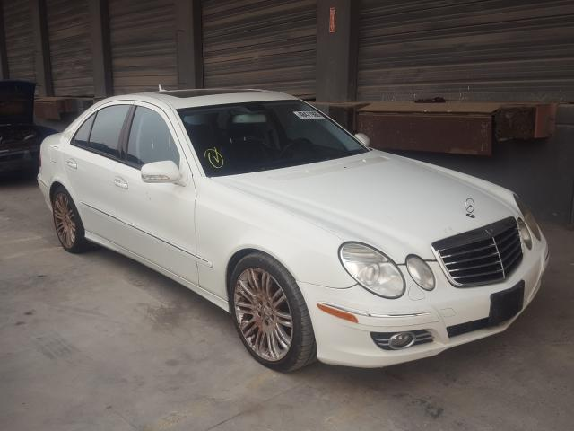 Salvage cars for sale from Copart Hayward, CA: 2007 Mercedes-Benz E 350