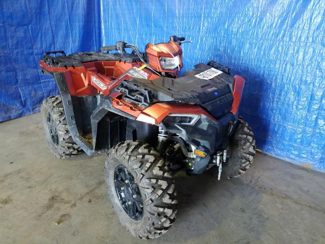 Salvage cars for sale from Copart Finksburg, MD: 2020 Polaris Sportsman