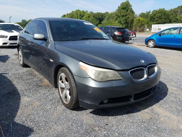 Salvage cars for sale from Copart York Haven, PA: 2006 BMW 530 XI