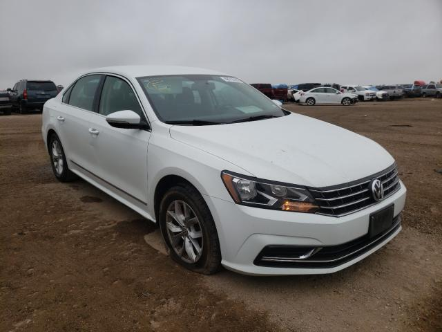 Salvage cars for sale from Copart Amarillo, TX: 2016 Volkswagen Passat S