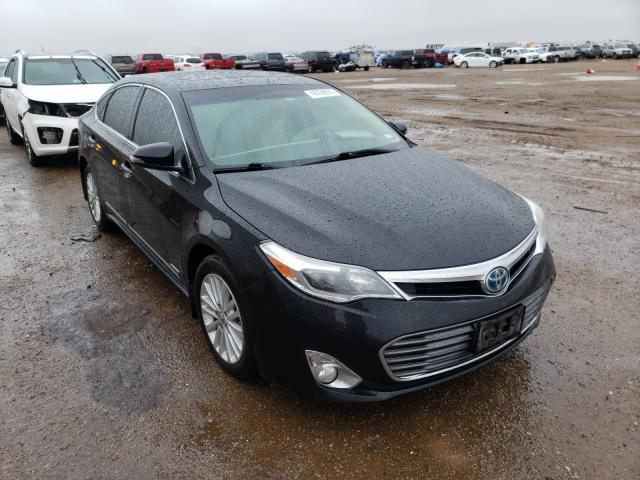 Salvage cars for sale from Copart Amarillo, TX: 2014 Toyota Avalon Hybrid