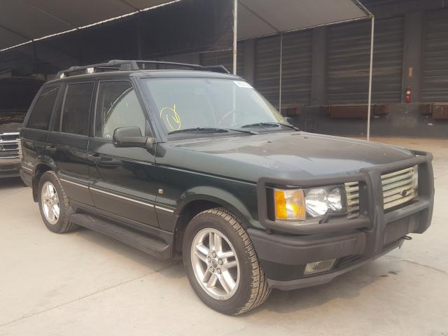 Salvage cars for sale from Copart Hayward, CA: 2002 Land Rover Range Rover