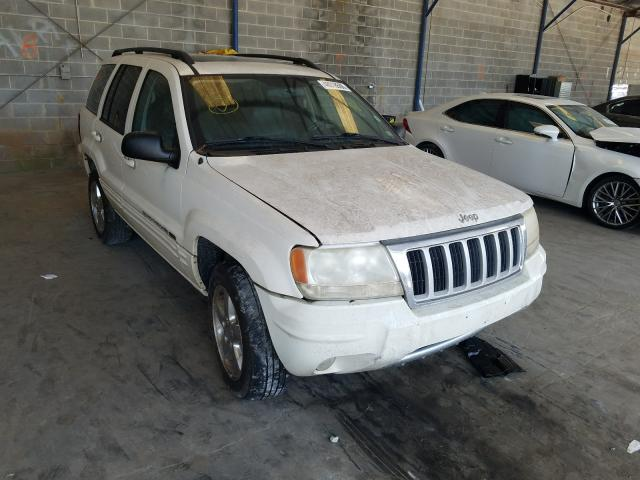 Salvage cars for sale from Copart Cartersville, GA: 2004 Jeep Grand Cherokee