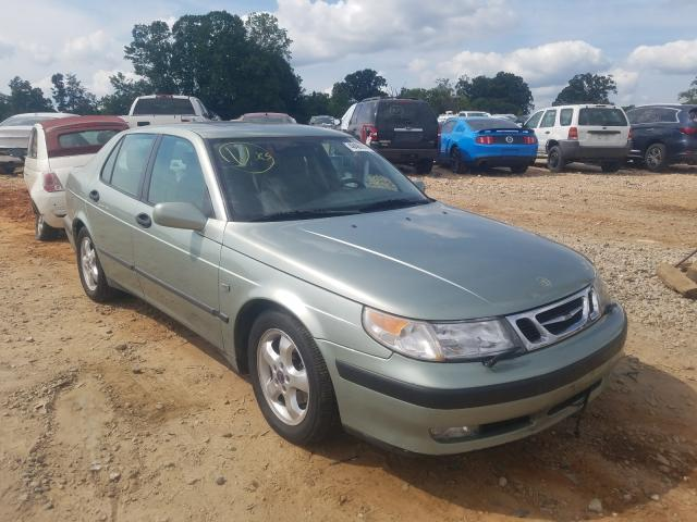Saab salvage cars for sale: 2001 Saab 9-5
