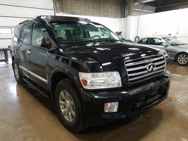 Infiniti QX56 salvage cars for sale: 2005 Infiniti QX56