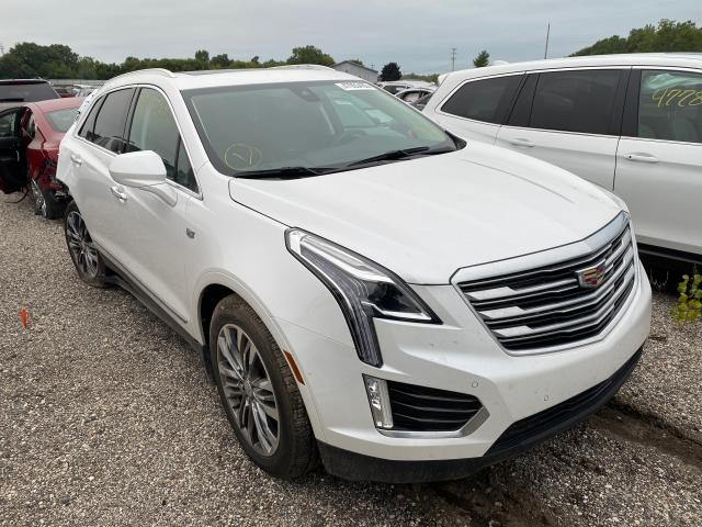 Cadillac XT5 Premium salvage cars for sale: 2017 Cadillac XT5 Premium