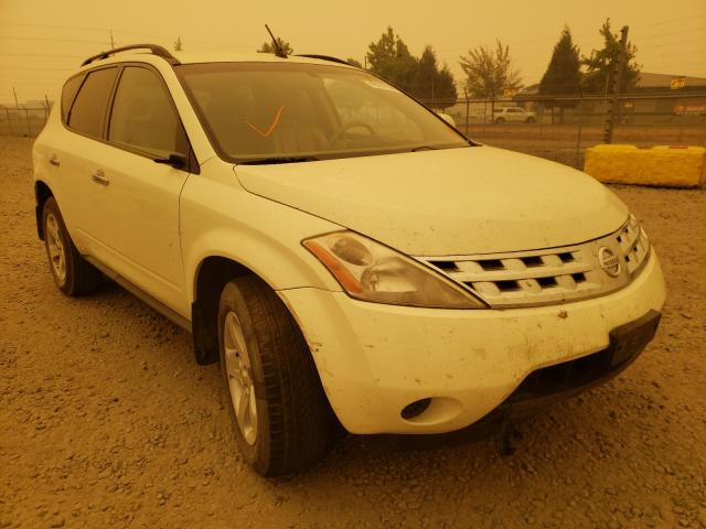 Salvage cars for sale from Copart Eugene, OR: 2005 Nissan Murano SL