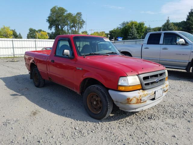 Ford Ranger salvage cars for sale: 1999 Ford Ranger