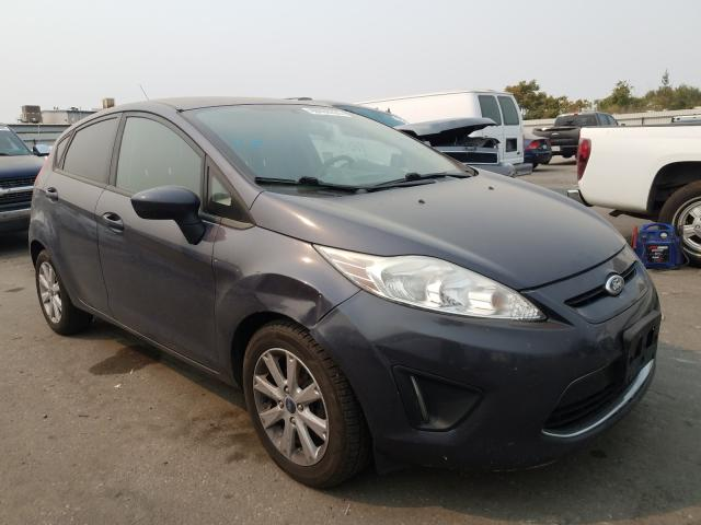Salvage cars for sale from Copart Bakersfield, CA: 2012 Ford Fiesta SE