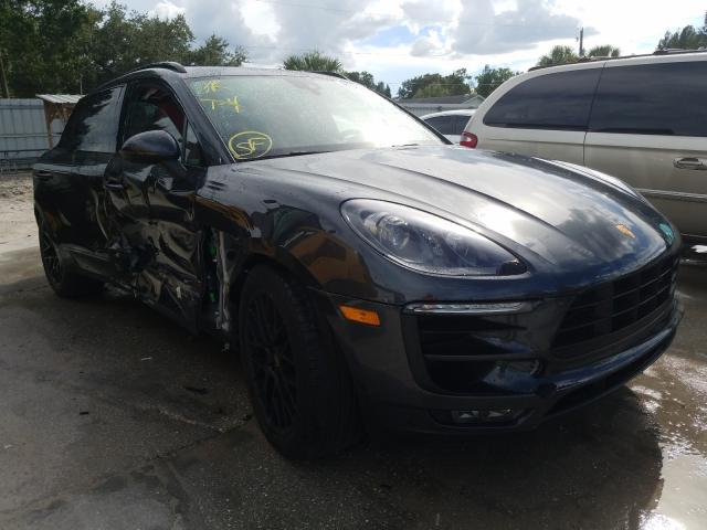 Porsche salvage cars for sale: 2017 Porsche Macan GTS