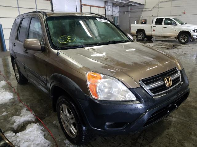 Honda salvage cars for sale: 2003 Honda CR-V EX