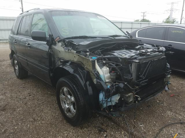 Honda Pilot EX salvage cars for sale: 2006 Honda Pilot EX