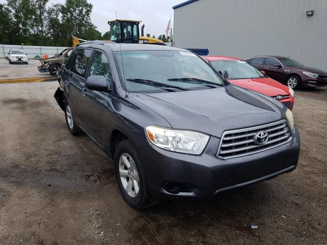 Salvage cars for sale from Copart Harleyville, SC: 2008 Toyota Highlander