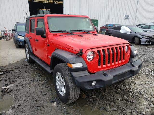 Jeep salvage cars for sale: 2019 Jeep Wrangler U
