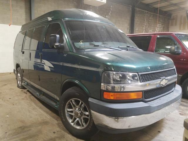Chevrolet Express G1 salvage cars for sale: 2004 Chevrolet Express G1