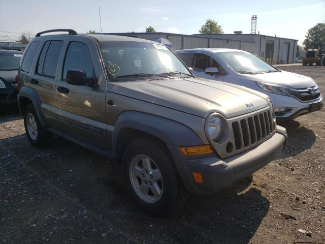 Jeep Liberty SP salvage cars for sale: 2006 Jeep Liberty SP