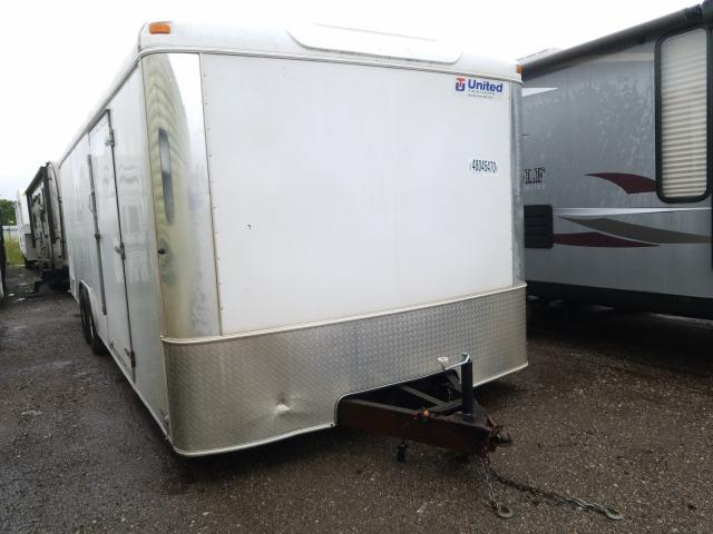 United Express salvage cars for sale: 2011 United Express Trailer