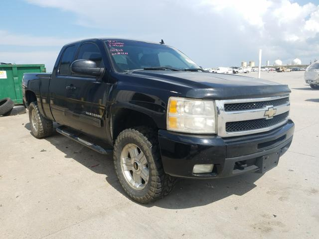 Salvage trucks for sale at New Orleans, LA auction: 2010 Chevrolet Silverado