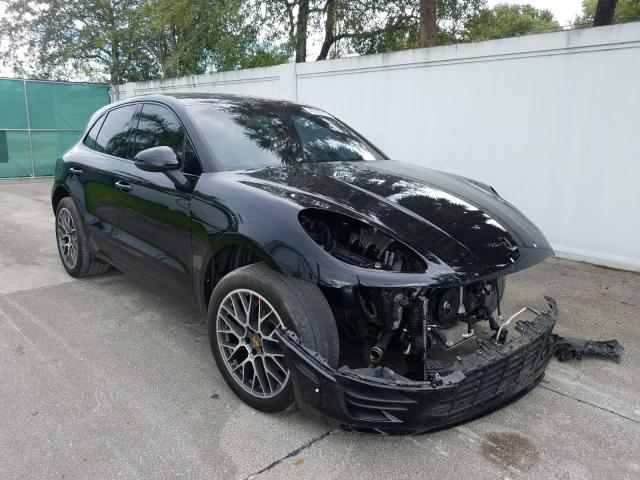 Porsche salvage cars for sale: 2016 Porsche Macan S