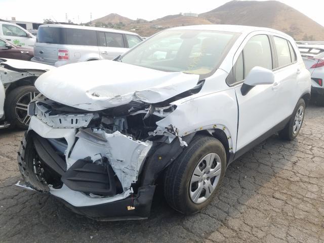 из сша 2017 Chevrolet Trax Ls 1.4L KL7CJKSB8HB243279