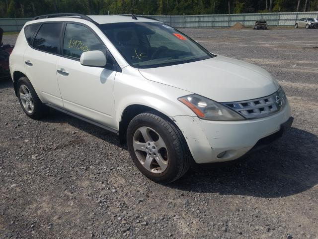 Salvage cars for sale from Copart Leroy, NY: 2003 Nissan Murano SL