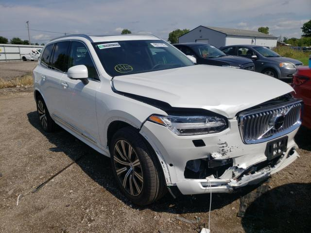 Volvo XC90 T6 IN salvage cars for sale: 2020 Volvo XC90 T6 IN