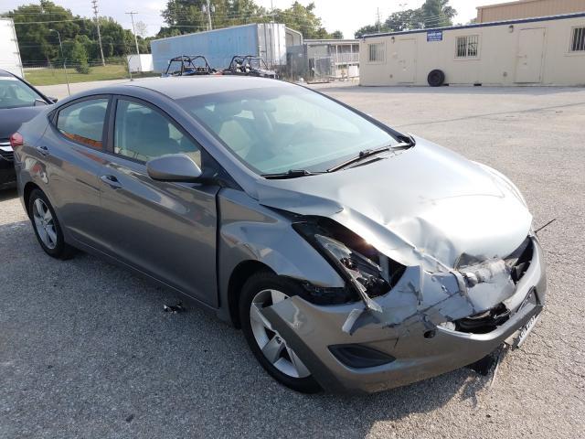 Salvage cars for sale from Copart Bridgeton, MO: 2013 Hyundai Elantra GL