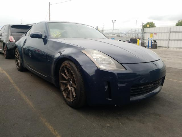Salvage cars for sale from Copart Wilmington, CA: 2004 Nissan 350Z Coupe
