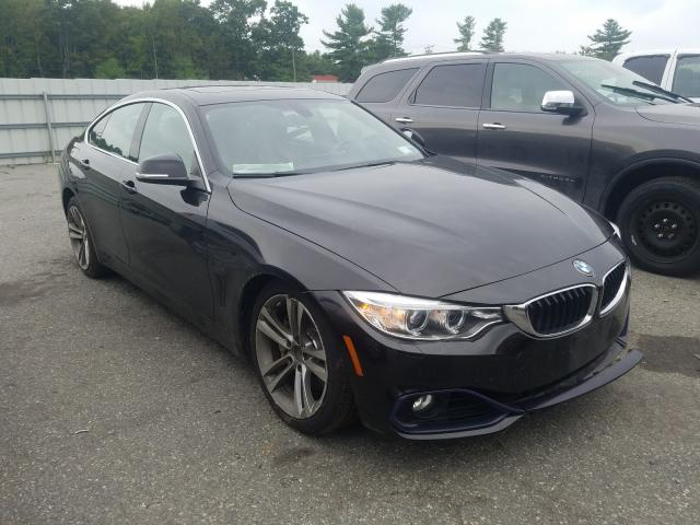 BMW 435 XI GRA salvage cars for sale: 2016 BMW 435 XI GRA