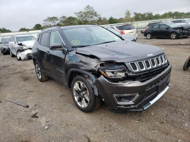 Jeep Compass LI salvage cars for sale: 2018 Jeep Compass LI