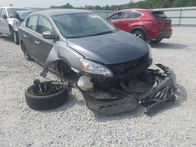 Salvage cars for sale from Copart Prairie Grove, AR: 2015 Nissan Sentra S