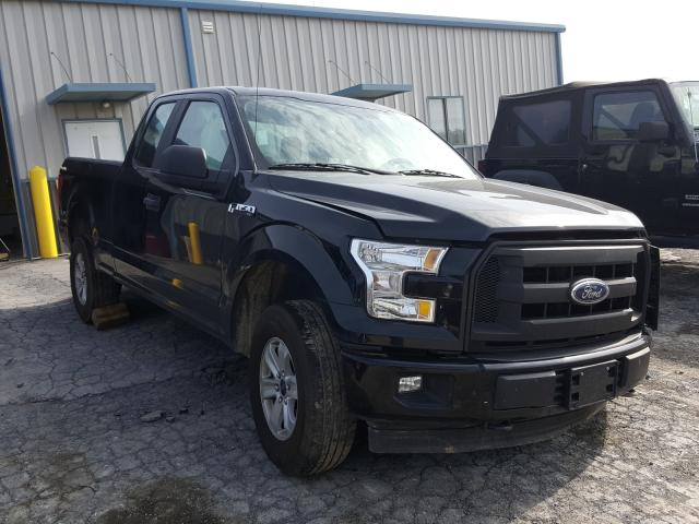 Salvage cars for sale from Copart Chambersburg, PA: 2017 Ford F150 Super